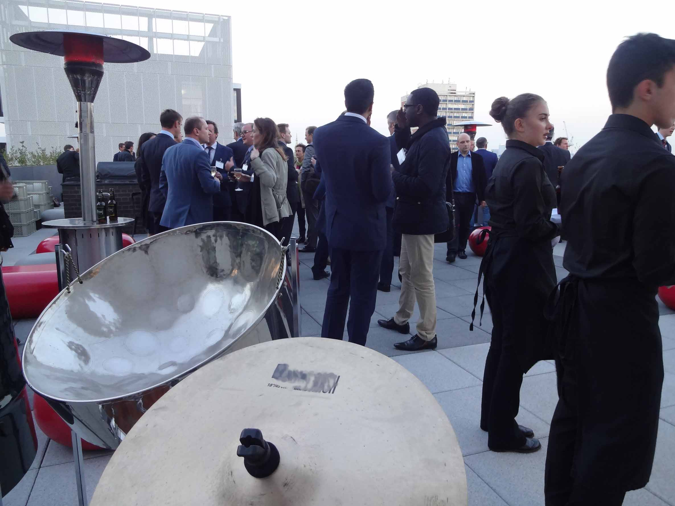 Steel band for corporate event, live band for summer event London, staff party, work do, (Soho, Westminster, Canary Wharf, City of London,)