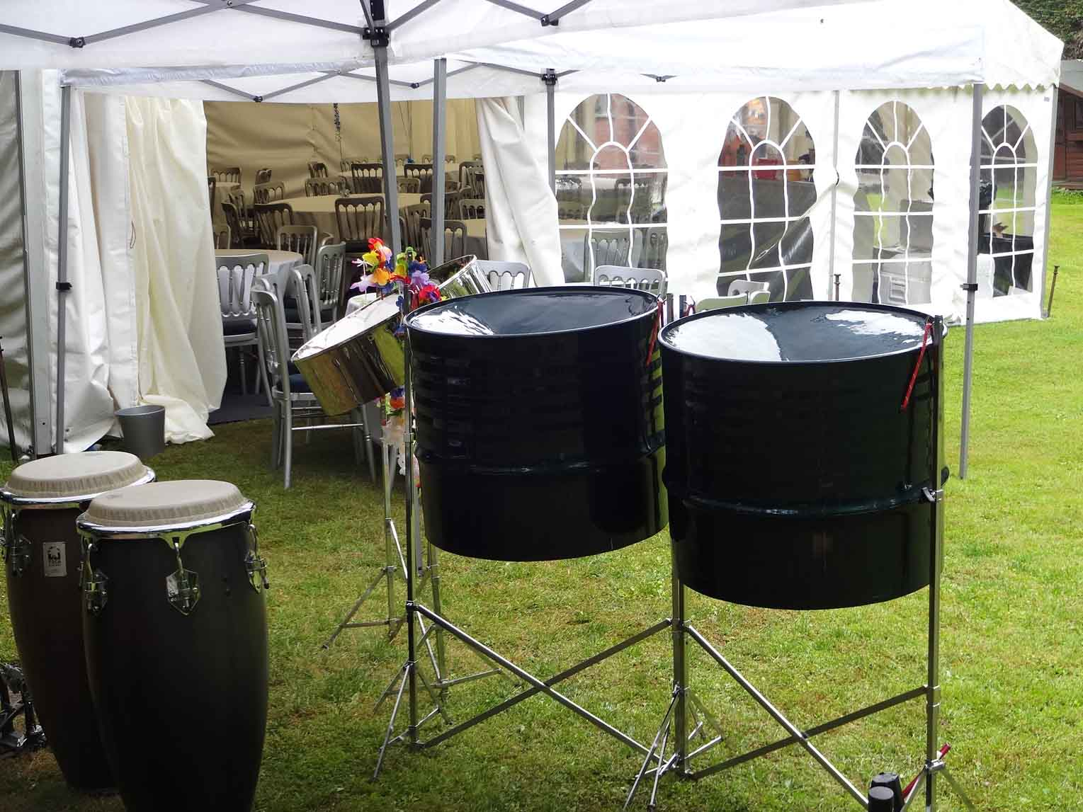 Steel bands for summer party, Live music for corporate event London, band for hotel drinks reception, music for terrace party, pool party,